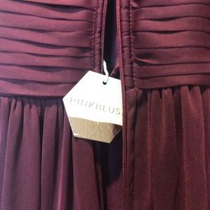 Pinkblush Dresses - Pinkblush Merlot Maternity Dress XL